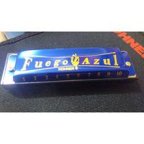 Armónica Hohner Fuego Azul Tono Do O C
