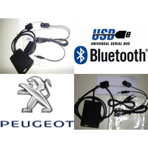 Auxiliar Manos Libres Bluetooth Peugeot 3008 Año 2011 A 2013