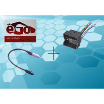 Kit Convertidor Adaptador Antena Arnes Estereo Bora Passat