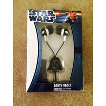 Audifonos Darth Vader Y Stormtrooper Con Microfono Jazwares