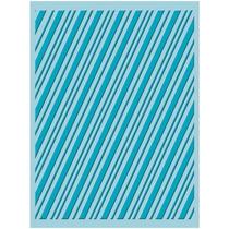 Scrapbook Cuttlebug Folder Para Repujado Candy Cane Stripe