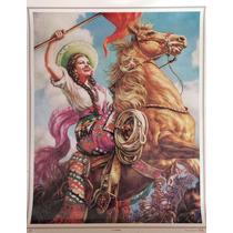 Adelita Poster Tradicional Mexicano Jesus Helguera