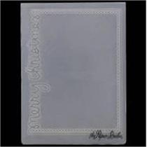 Scrapbook Folder Paper Studio Para Repujado Feliz Navidad