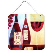 La Colección Del Vino Rouge Por Cathy Brear Pared O Puerta
