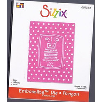 Scrapbook Suaja Y Realza Diseño Pastel Sizzix