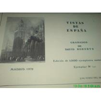 Grabados Vistas De España, 19 Láminas, Incluyendo La Portada