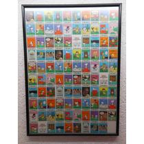 Snoopy Peanuts Pliego De Trading Cards Sin Cortar.