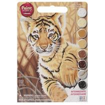 Pintura Set - Paintsworks Aprender A Pintar Tiger Cub
