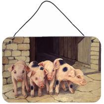 Cerdos Lechones De Daphne Baxter Pared O Puerta Colgando Imp