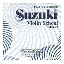 Libro Suzuki Violin School, Vol 3, David Nadien