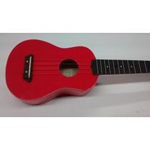 Ukulele Soprano La Sevillana Svuke100 Rosa Negro Y Lila