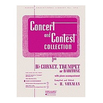 Concert And Contest Collection For Cornet, Trumpet, H Voxman