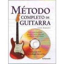 Metodo Completo De Guitarra 1 Vol + Cd Parramon