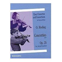 O. Reiding: Concertino In D, Opus 25, Oscar Rieding