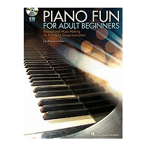 Piano Fun For Adult Beginners: Recreational, Brenda Dillon