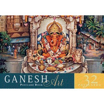 Ganesh Art Postcard Book, Mandala Publishing