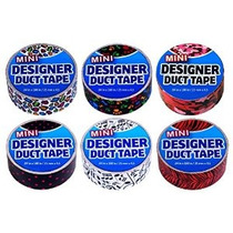 Duct Tape Mini 6 Pack Lunares Del Perrito Imprime Notas Musi