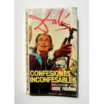 Salvador Dali Confesiones Inconfesables Libro Importado 1975