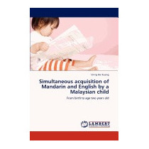 Simultaneous Acquisition Of Mandarin And, Ching Hei Kuang