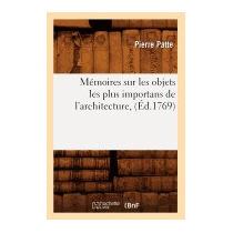 Memoires Sur Les Objets Les Plus Importans De, Patte P