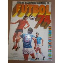 Album Campeonato Mundial Futbol Alemania 1974 Holanda Brasil