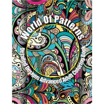 Libro World Of Patterns Detailed Designs Coloring Book