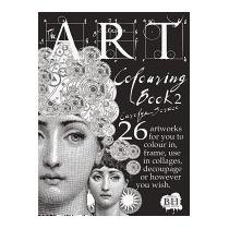 Libro Art Colouring Book 2, Carolyn Scrace
