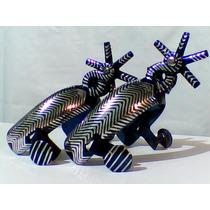 Espuelas Mil Rayas Pavonado Azul Incrustacion De Aluminio