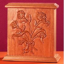 Urna Funeraria Para Cenizas Ramo Floral