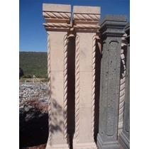 Columnas Cuadradas De Cantera Natural