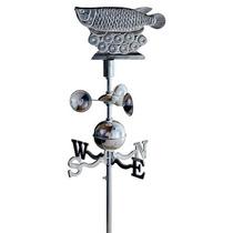 Veleta De Aluminio Y Acero Inoxidable Con Anemómetro