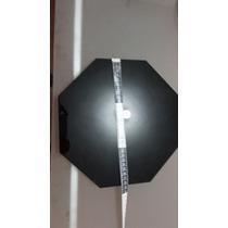 Hermoso Espejo De Obsidiana Hecho En Teohtihuacan 28 Cms
