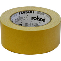 Cinta De Alfombras - Rolson 60381 Doble Cara 50mmx 25m Brico