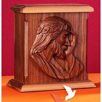 Urna Funeraria Para Cenizas Rostro De Jesucristo