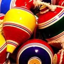 100 Trompos De Madera Mexicanos, Hechos A Mano Por Artesanos