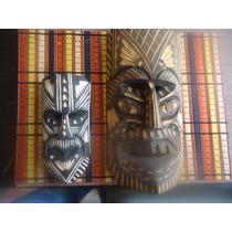 Par De Mascaras Tipo Africanas Envio Gratis