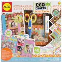 Kit Scrapbook - Alex Toys Eco Libro De Tapas Duras Tijeras