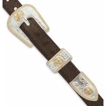 Hebilla - 3 8 Saba Set Cinturón Que Hace Diseño Acento