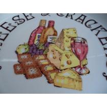 Plato Chesee & Crackers By Safford Botanero De Lujo Souvenir