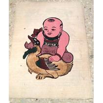 Pintura Artesanal Vietnamita Hecha A Mano