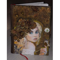 Libreta Diario Cuaderno Journal Regalo Fairy Hada