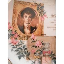 Plato Avon 20th Anniversary Vintage 1990 Adornado De Oro 22k
