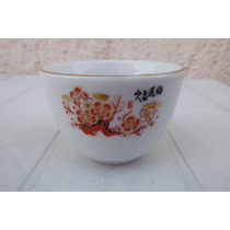 Vaso Licor Porcelana China Oriental Asia Kitchen Cantina Bar