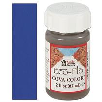 Pintura Cuero - Eco-flo Cova Color 2 Oz Real Azul Color
