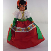 Muñeca Con Traje Típico De Zacatecas