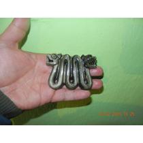 Serpiente De Dos Cabezas En Obsidiana