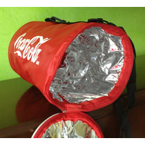Hielera En Forma De Lata De Coca Cola Interior Termico