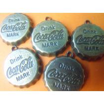 Lote 5 Dijes, Colgijes, Pendientes De Coca Cola Coleccionabl