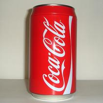 Alcancia En Forma De Lata De Coca Cola De Colección