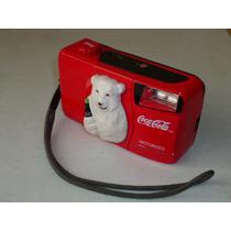 Coca-cola Camara 35mm Oso Polar Navidad 1999 Coleccionable